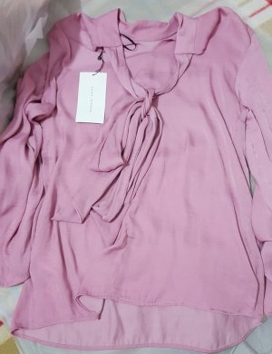 Zara Blouse-chemisier rose