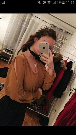 Zara Bluse mit schlitzen