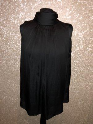 Zara Bluse schwarz Größe M