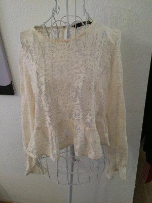 Zara Bluse, Shirt, spitze, spitzenbluse, xs,