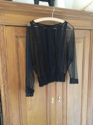 Zara Blusa in merletto nero