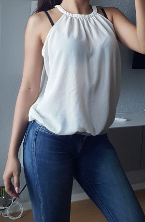 Zara Bluse Top transparent