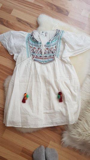 Zara Túnica blanco