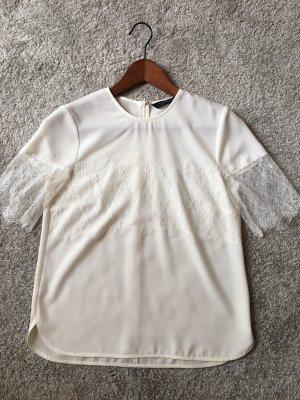 ZARA Bluse, Weiß, Größe xs