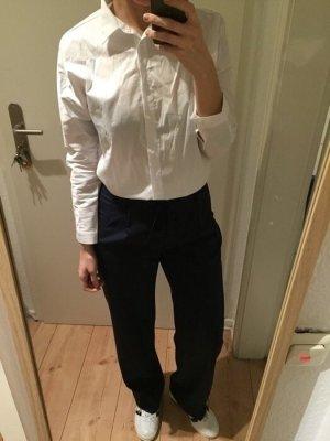 Zara Bluse weißes Oversize Hemd Gr. 38/M neu!
