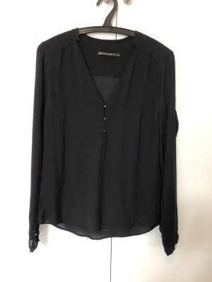 Zara Long Sleeve Blouse black