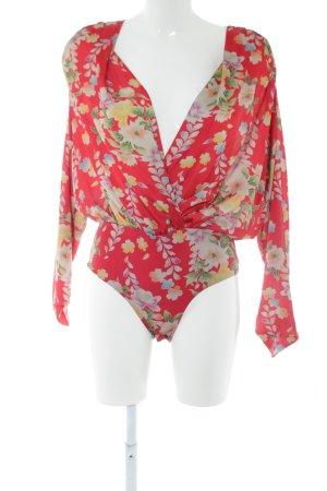 Zara Bodyblouse bloemenprint casual uitstraling