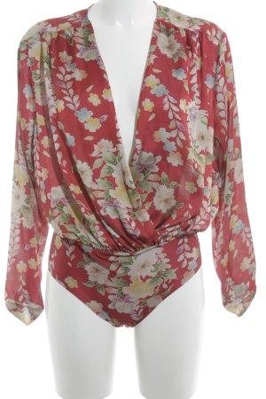 Zara Blusen-Body florales Muster klassischer Stil