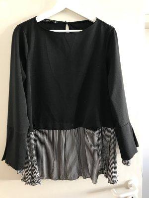 Zara Maglione bianco-nero
