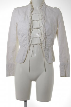 Zara Blouse Jacket cream casual look