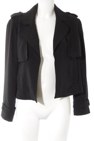 Zara Blousejack zwart zakelijke stijl