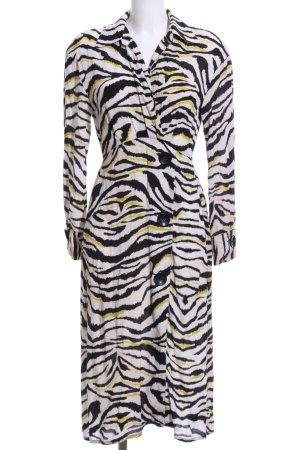 Zara Abito blusa motivo animale stile casual