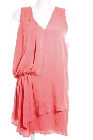 Zara Blusenkleid apricot Casual-Look