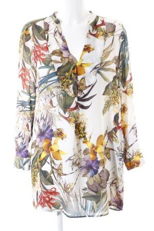 Zara Robe chemisier motif floral style Boho