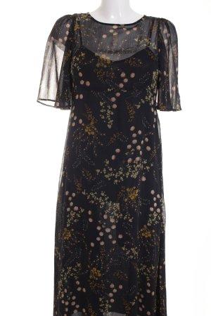 Zara Blusenkleid florales Muster Casual-Look