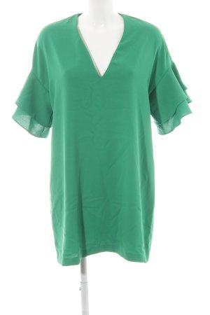Zara Blusenkleid grün Casual-Look