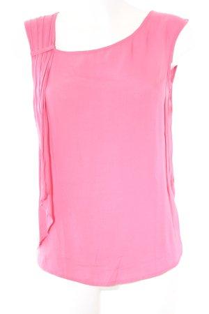 Zara Blusentop neonpink Casual-Look