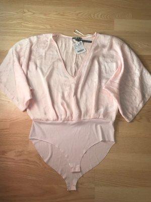 Zara Chemisier body rosé