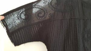 Zara Boho Festival Cropped Bluse
