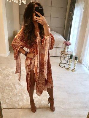 Zara boho Style Kleid gemustert Midi maxi kleid