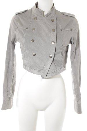 Zara Boléro gris clair style décontracté