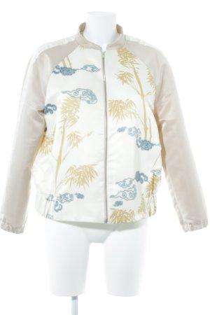Zara Blouson aviateur motif floral style décontracté
