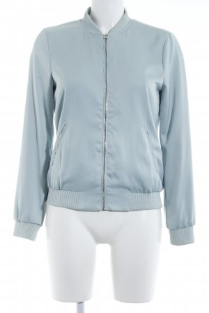 Zara Bomber Jacket mint casual look