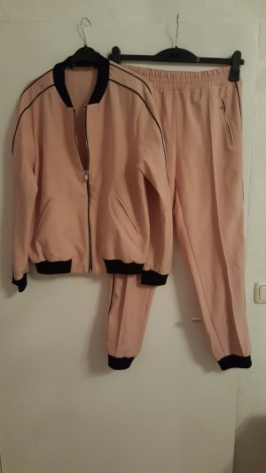 Zara Basic Bomberjack rosé-zwart Polyester