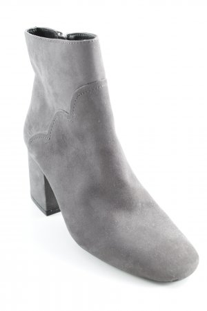 Zara Booties grau Casual-Look
