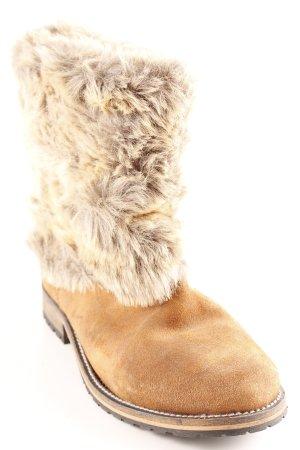 Zara Booties light brown-grey casual look