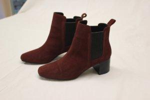 Zara Chelsea Boots multicolored leather