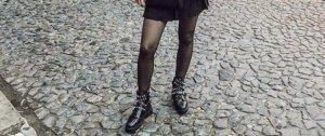 Zara Stivaletto nero-argento