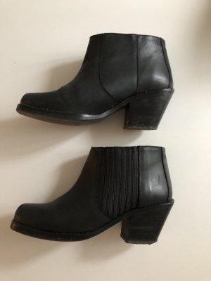 Zara Boots aus Leder