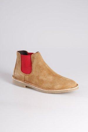 Zara Boots braun-rot