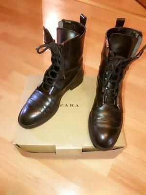 ZARA Boots echtes Leder