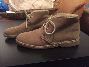 Zara Boots mit Fell Imitat kuschlig warm