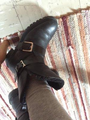 Zara Boots schwarz 39
