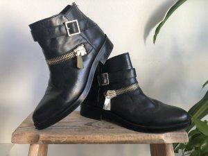 Zara Boots Stiefeletten mit Reißverschlüssen
