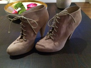 Zara Boots Wildleder