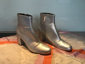 ZARA Botties/Stiefeletten   Silber
