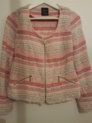 Zara Boucle/ Strick Jacke  Größe M