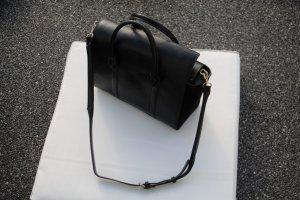 Zara Bowling Bag in Schwarz mit Details
