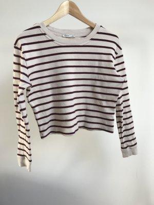 Zara Boxy Streifen shirt - S