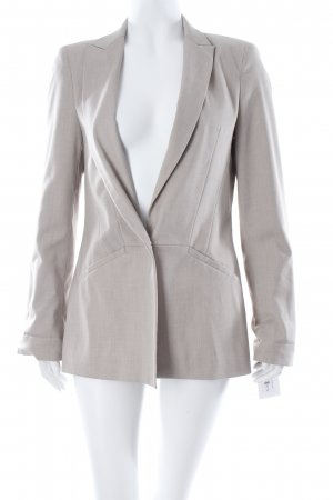 Zara Boyfriend-Blazer beige Brit-Look
