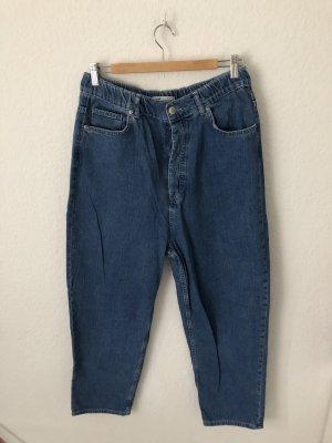 Zara Boyfriend Jeans Blau