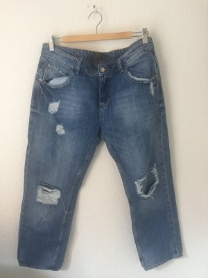 Zara Boyfriend Jeans Destroyed