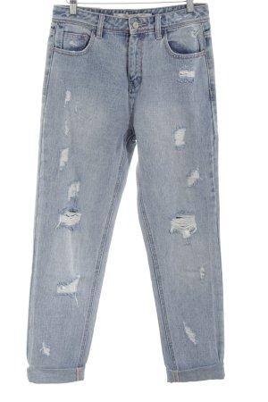 Zara Jeans boyfriend bleu Aspect de jeans