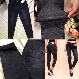 Zara Basic Jeans boyfriend nero
