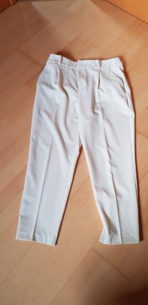 Zara Jersey Pants natural white