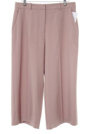 Zara Pantalon à pinces vieux rose style décontracté